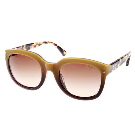 COACH 太陽眼鏡 都會風大框款(琥珀芥末黃) #COS8047F 510013