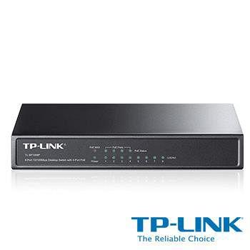 TP-LINK TL-SF1008P 8埠 10/100Mbps 桌上型交換器
