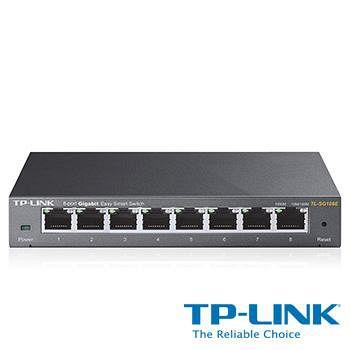 TP-LINK TL-SG108E 8埠 Gigabit簡易智慧型交換器