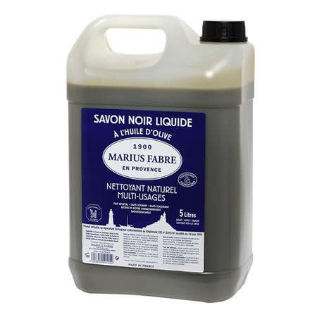 法國法鉑-橄欖油黑肥皂/5L