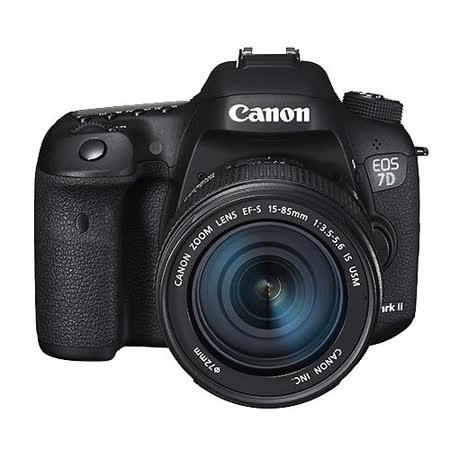 Canon EOS 7D Mark II +15-85mm變焦鏡(中文平輸)-加SD64G記憶卡+副電+單眼包+減壓背帶+拭鏡筆+清潔組+高透光保護貼
