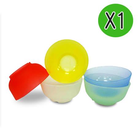 【Mrs.home】食用安心-色彩多漾矽膠小碗