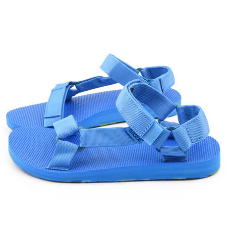 TEVA 男款 經典織帶涼鞋TV1007555FBLU-藍