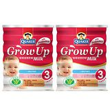 QUAKER桂格 成長奶粉-健康三益菌配方 1650gx2入組