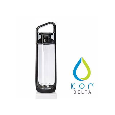 【美國KORwater】KOR Delta隨身水瓶-尊爵黑/500ml