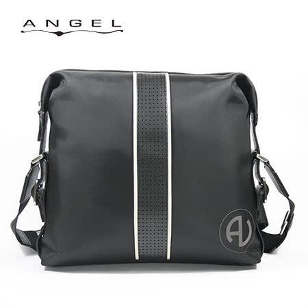 ANGEL經典雅痞輕量斜背包(大)0266-A4501
