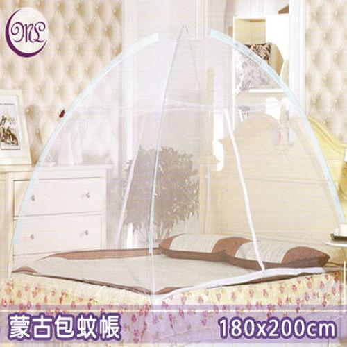 【名流寢飾家居館】蒙古包蚊帳.T型門設計.加大雙人