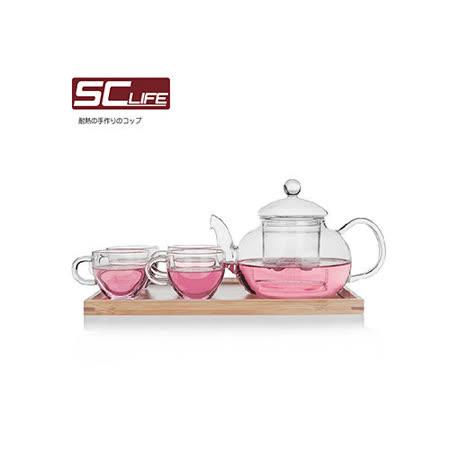 【SC life】玻璃泡茶六件組