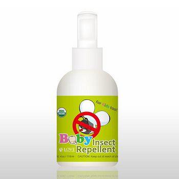 USDA 有機防蚊液(嬰幼兒適用) 118ml