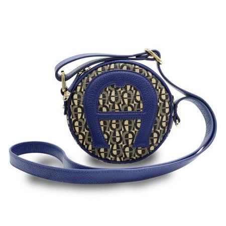 【私心大推】gohappy線上購物AIGNER KIDS系列 Mini圓形側背包-S-深藍價格大 愛 買