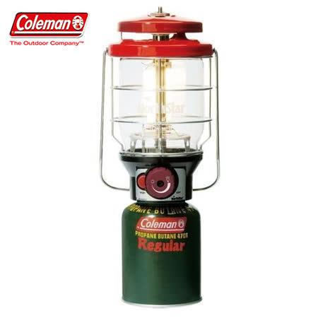 【美國 Coleman】2500北極星瓦斯燈 Northstar.電子點火器.露營燈.高山瓦斯.適野營.釣魚燈/ CM-5521 紅
