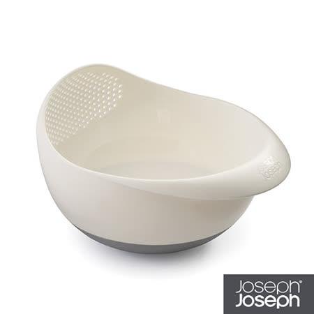 Joseph Joseph英國創意餐廚★浸泡洗滌兩用濾籃(小白)2入組★40066
