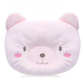 新生寶寶機能型天鵝絨頭部定型枕-【三色選】