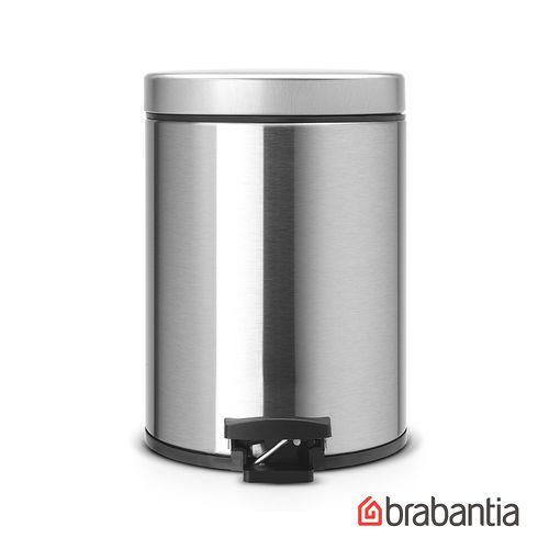 ~荷蘭BRABANTIA~ 圓型腳踏式垃圾桶5L~霧面