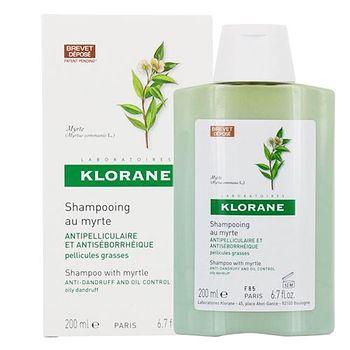 Klorane 蔻蘿蘭 桃金孃抗屑洗髮精(油性頭皮) 200ml