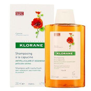 Klorane 蔻蘿蘭 金蓮花抗屑洗髮精(乾性頭皮) 200ml