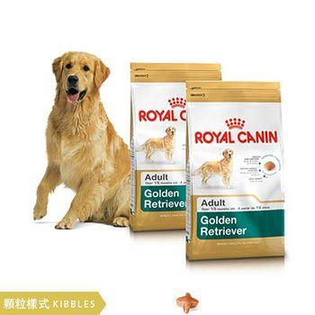 ROYAL CANIN法國皇家 黃金獵犬GR25 狗飼料 12公斤 X 2包