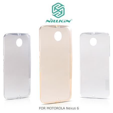NILLKIN Motorola Nexus 6 本色TPU軟套