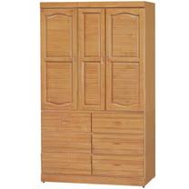 HAPPYHOME 富丞赤陽色4x7尺衣櫥733-3
