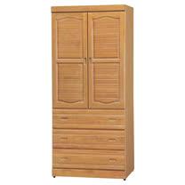 HAPPYHOME 富丞赤陽色3x7尺衣櫥733-4
