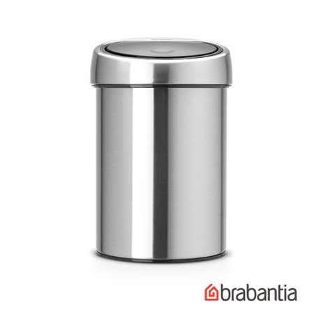 【Brabantia】 圓形按壓式垃圾桶3L