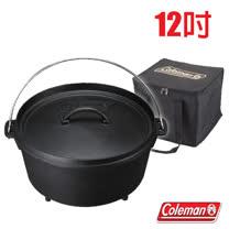 【美國 Coleman】SF荷蘭鍋 /12吋 (原廠公司貨).鑄鐵鍋 /特價中 CM-9391