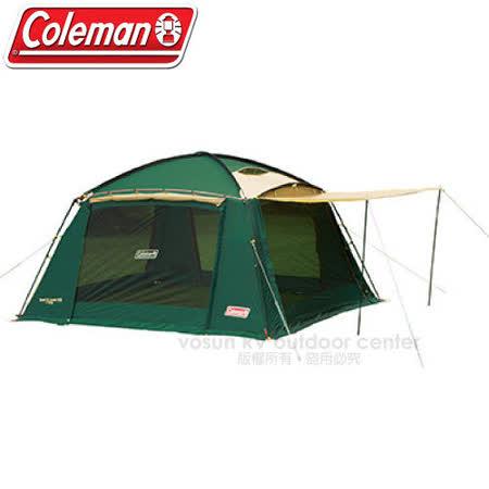 【美國 Coleman】 圓頂透氣網屋.400露營帳 /可連接帳篷/CM-7185