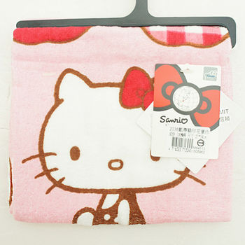 HELLO KITTY 印花童巾(27*54cm)