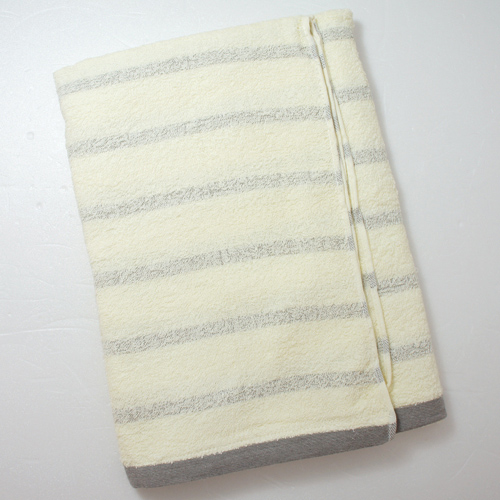 TELITA 粉彩竹炭條紋浴巾 68~132cm