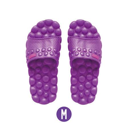 【活力小舖】腳底按摩室內外拖鞋(M:紫)