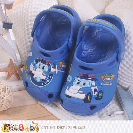 魔法Baby~男童鞋 POLI正版水陸兩用輕便鞋 sa51006