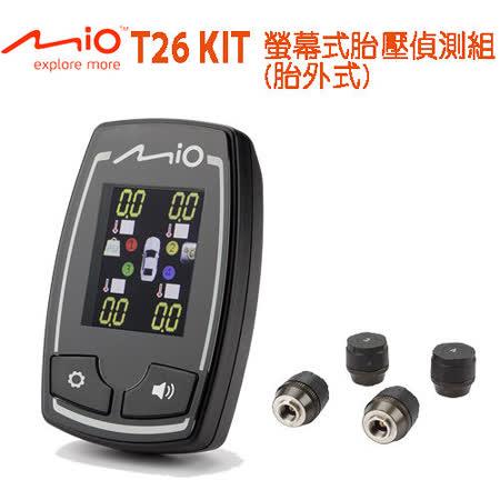 Mio MiTIRE T26 KIT  螢幕g sensor 行車記錄器胎壓偵測器套件 (胎外)