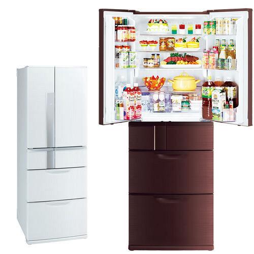 ★回函贈好禮★『MITSUBISHI』☆ 三菱525公升六門變頻超大容量冰箱 MR-JX53X