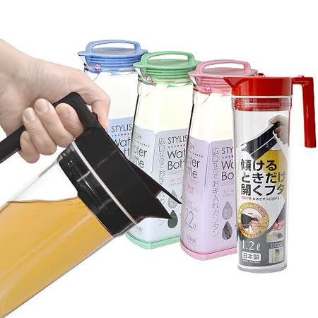 日本製造OSK非玻璃可倒放冷水壺2入特惠組