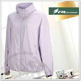 【FIT】女新款 吸排抗UV 防曬外套 /薰衣紫_DS2308