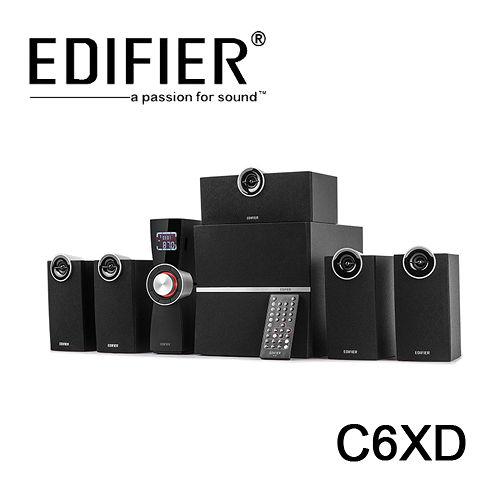 EDIFIER 漫步者 C6XD 5.1聲道喇叭 音響