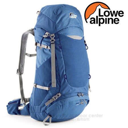 【英國 LOWE ALPINE】新款 AirZone Trek + 45:55 輕量透氣健行登山背包(含背包套) /FTD48DEN 丹寧藍