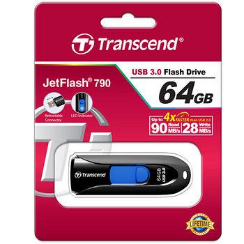 創見64G USB3.0隨身碟JF790K