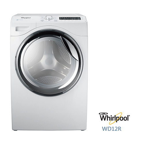 ~ Whirlpool 惠而浦 蒸洗脫烘滾筒系列 12公斤洗衣容量^(WD12R^) 送
