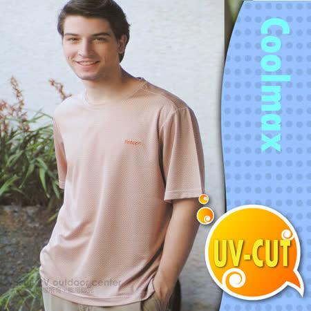 【瑞多仕-RATOPS】男款 輕量透氣圓領短袖T恤 / DB7453 磚駝格