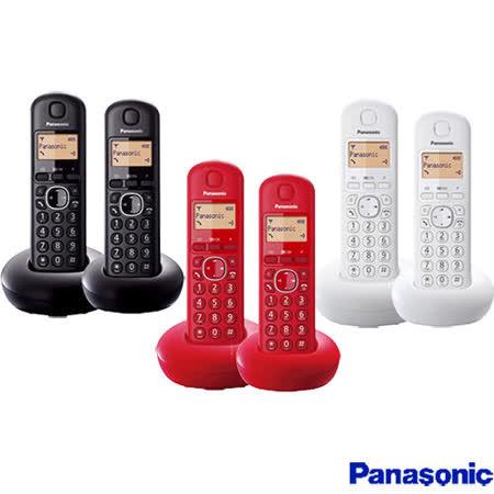 《贈馬克杯》【國際牌Panasonic】DECT數位無線電話 KX-TGB212TW 公司貨
