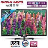 SANYO台灣三洋 24吋LED背光液晶顯示器+視訊盒 SMT-24MV3