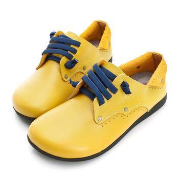 bellarita.外出休閒鞋-黃