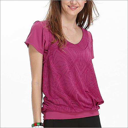【TOUC板橋 fe21H AERO】假兩件式寬鬆短袖上衣 TA516 (商品圖不含配件)