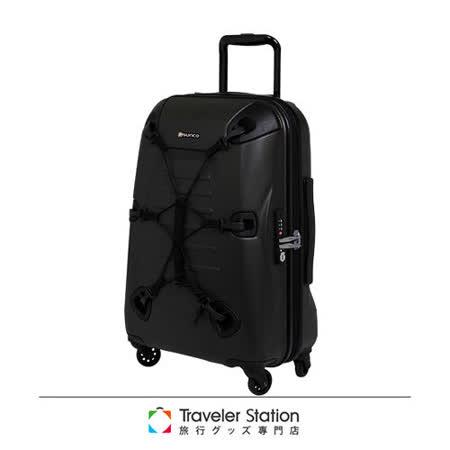 《Traveler Station》SUNCO OUTZONE25吋拉鍊拉桿箱-橄欖綠
