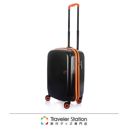 《Traveler Station》LOJEL 19.5吋NIMBUS防雨箱-黑底橘邊