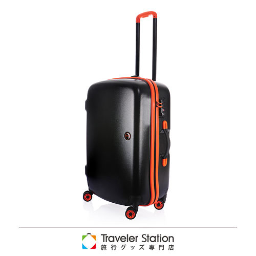 《Traveler St板橋 大 遠 百貨ation》LOJEL 25吋NIMBUS防雨箱-黑底橘邊