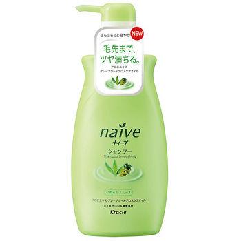 娜艾菩植物洗髮精-蘆薈葡萄550ml