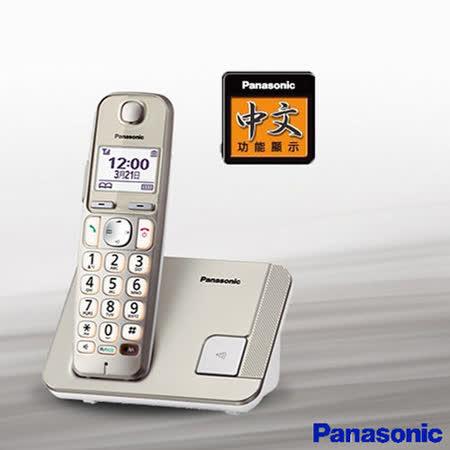 《贈馬克杯》【國際牌Panasonic】DECT數位無線電話 KX-TGE210TW 公司貨