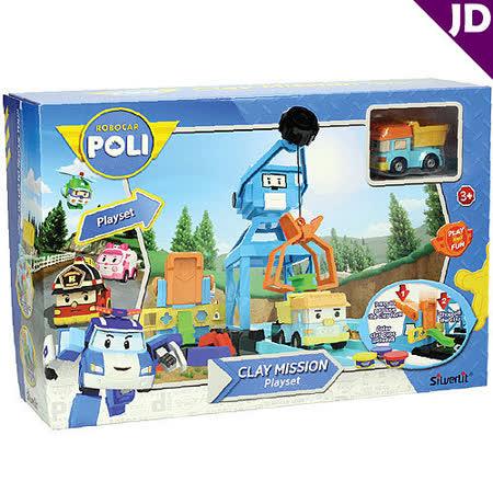 【POLI 變形車系列】波力黏土遊戲組 RB83252